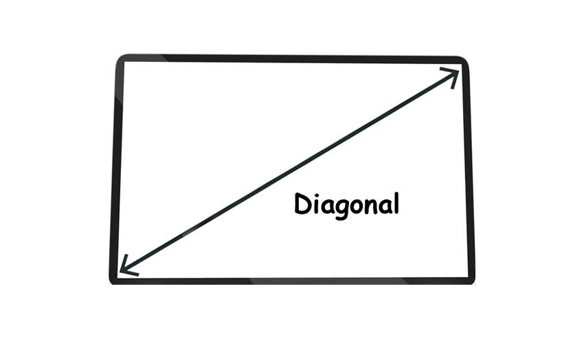 Как узнать диагональ монитора