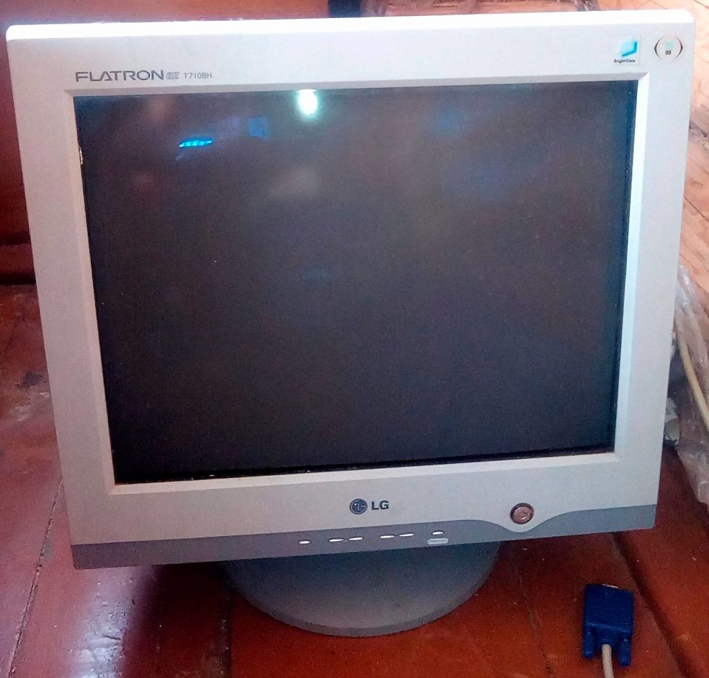 как подключить старый монитор к тв приставке