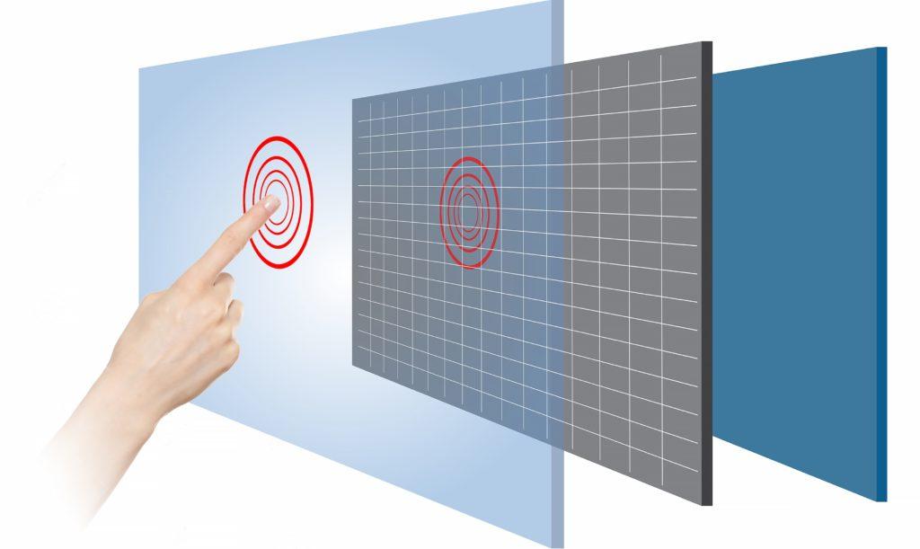 Проекционно-ёмкостные сенсорные экраны