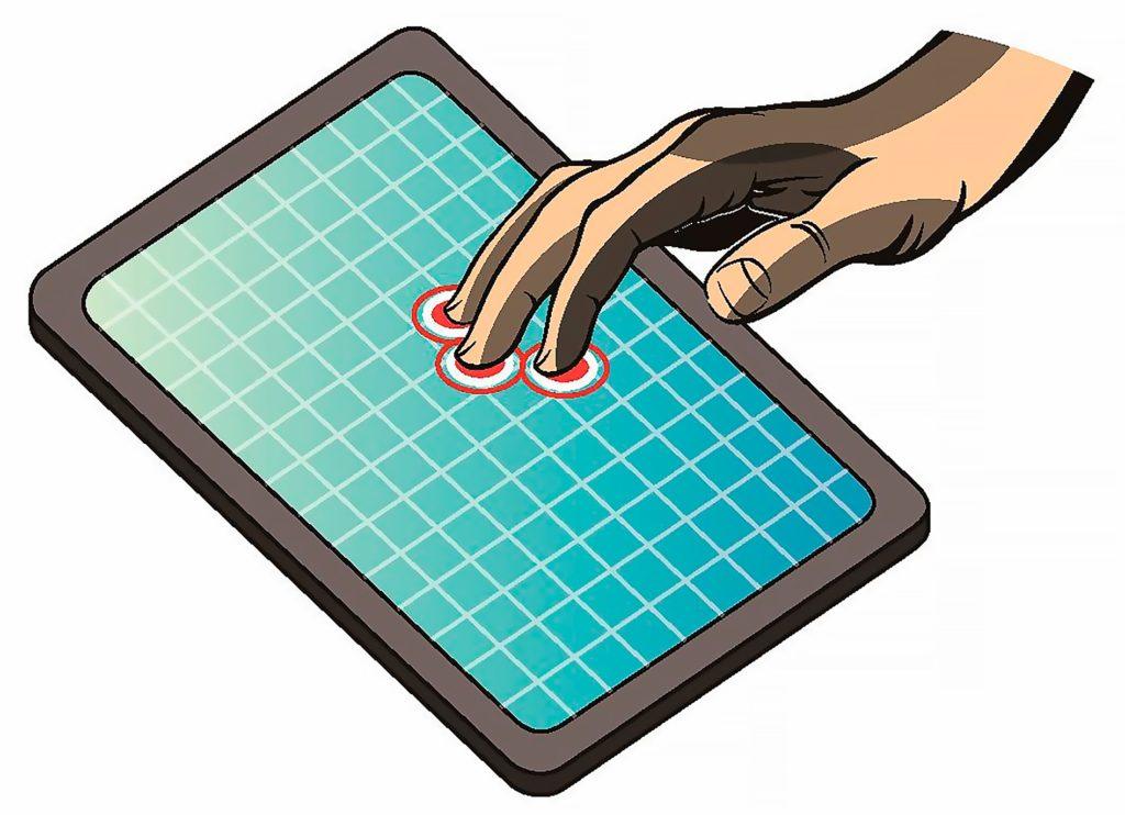 Мультитач технологии