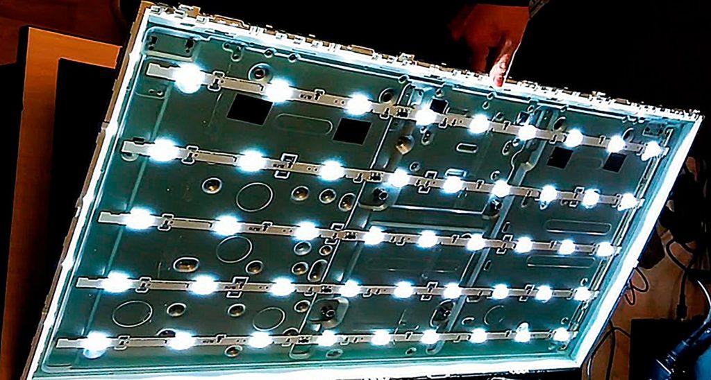 Подсветка ЖК матрицы