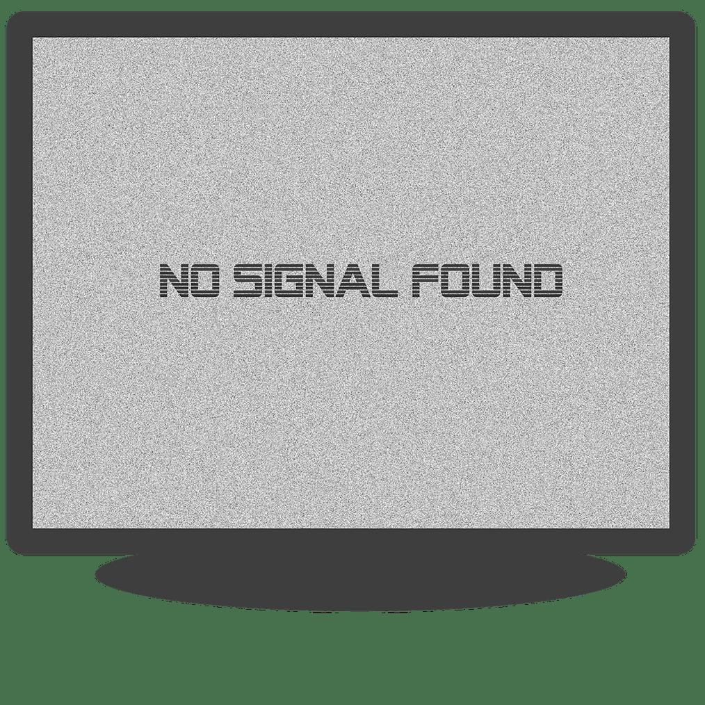 На дисплее отсутствуе сигнал